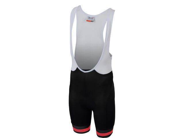sportful tour 2 0 short de cyclisme enfant black orange. Black Bedroom Furniture Sets. Home Design Ideas